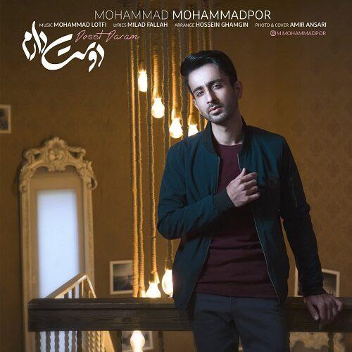 دانلود موزیک جدید محمد محمدپور دوست دارم